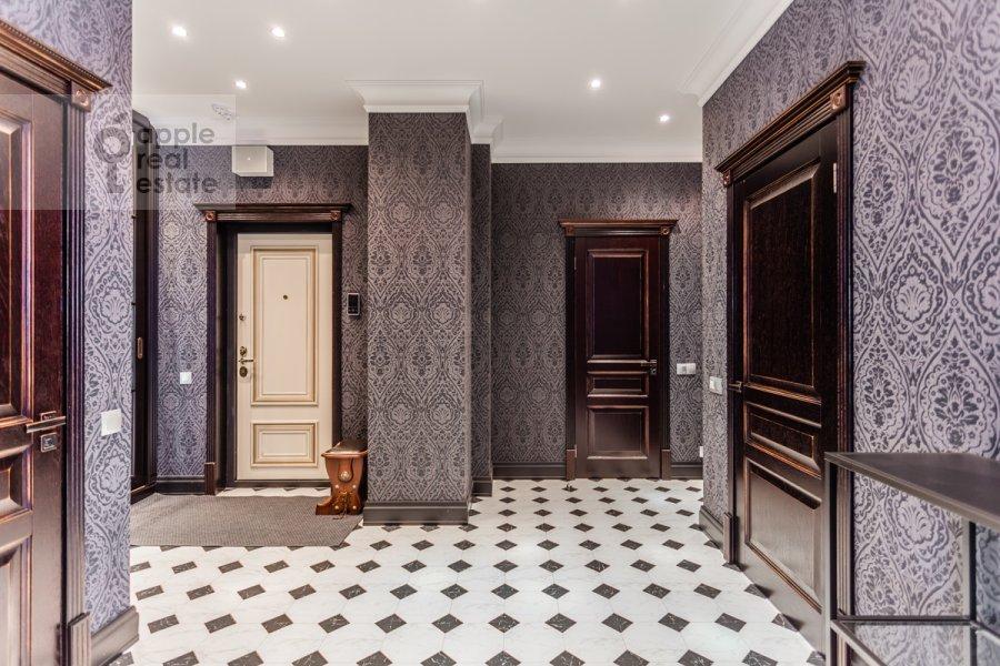 Corridor of the 3-room apartment at Beregovoy pr. 5k2