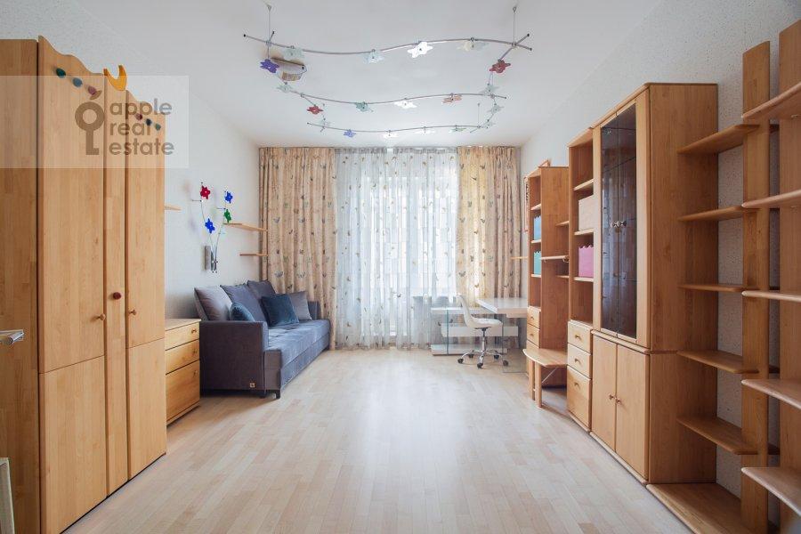 Children's room / Cabinet of the 4-room apartment at Zvenigorodskaya ulitsa 7