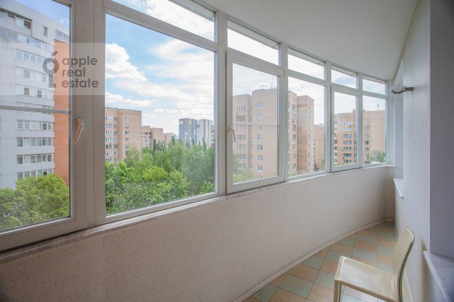 Balcony / Terrace / Loggia of the 4-room apartment at Zvenigorodskaya ul. 7