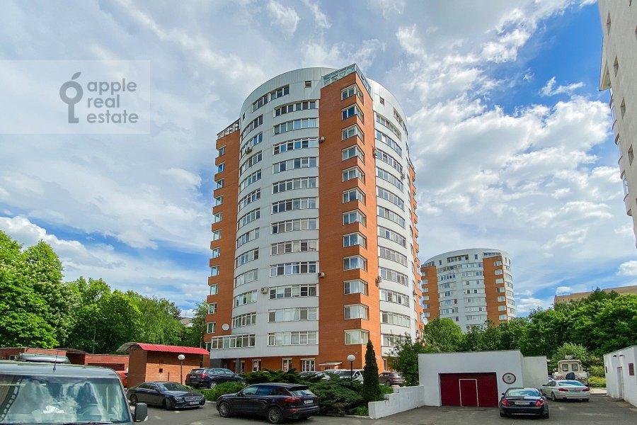 Photo of the house of the 4-room apartment at Zvenigorodskaya ul. 7