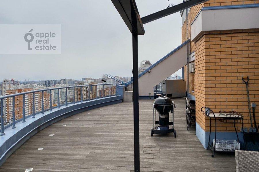Balcony / Terrace / Loggia of the 6-room apartment at Leninskiy  pr-t. 106k1